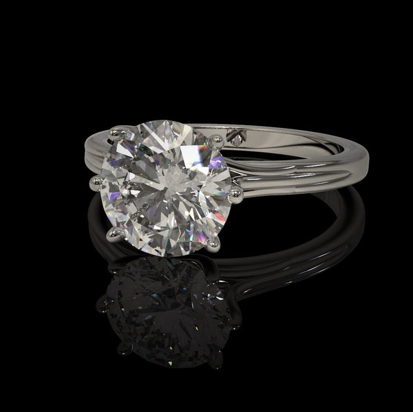 Brilliant Diamante Ring