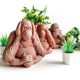 3 Wise Monkeys | Speak See Hear No Evil | Garden Ornaments