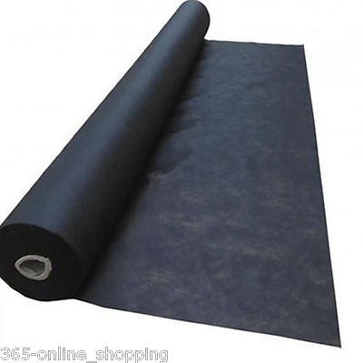 20m² HEAVY DUTY WEED CONTROL FABRIC MEMBRANE GROUND SHEET COVER GARDEN LARGE BIG