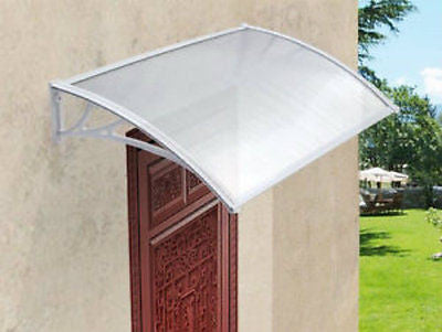 White Door Canopy smoke Shelter Front Back Porch Outdoor Canopies Patio Cover ... & White Door Canopy smoke Shelter Front Back Porch Outdoor Canopies ...