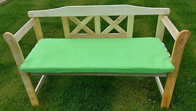 Charmant ... Garden Chair Bench Cushion Pad Waterproof Outdoor Bistro Stool Patio  Dining Seat ...