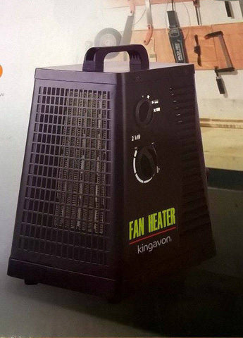 2kw ptc quiet ceramic  industrial space  heater