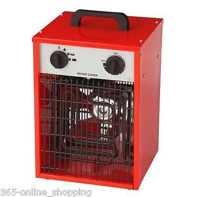 2KW red  240V industrial space heater