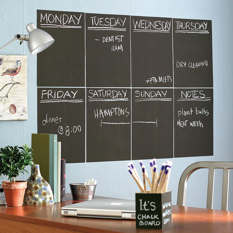 Chalkboard/Blackboard Wall Sticker