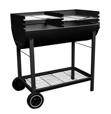 Trolley Charcoal BBQ | Barbecue Grill | Outdoor Garden Grilling