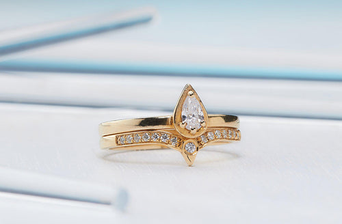 Magnificent Rings Duo-Diamond Ring, Engagement Ring-TOR Pure Jewelry