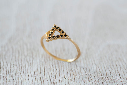 Triangles Ring-Diamond Ring, Engagement Ring-TOR Pure Jewelry