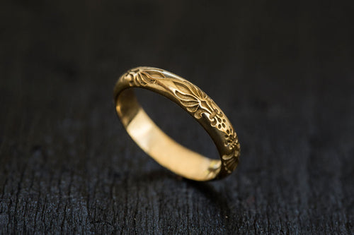 Queen Marie Ring-Wedding Band-TOR Pure Jewelry