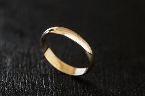 Dotty Wedding Band