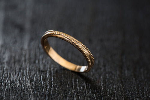 Cross Wedding Band-Wedding Band-TOR Pure Jewelry
