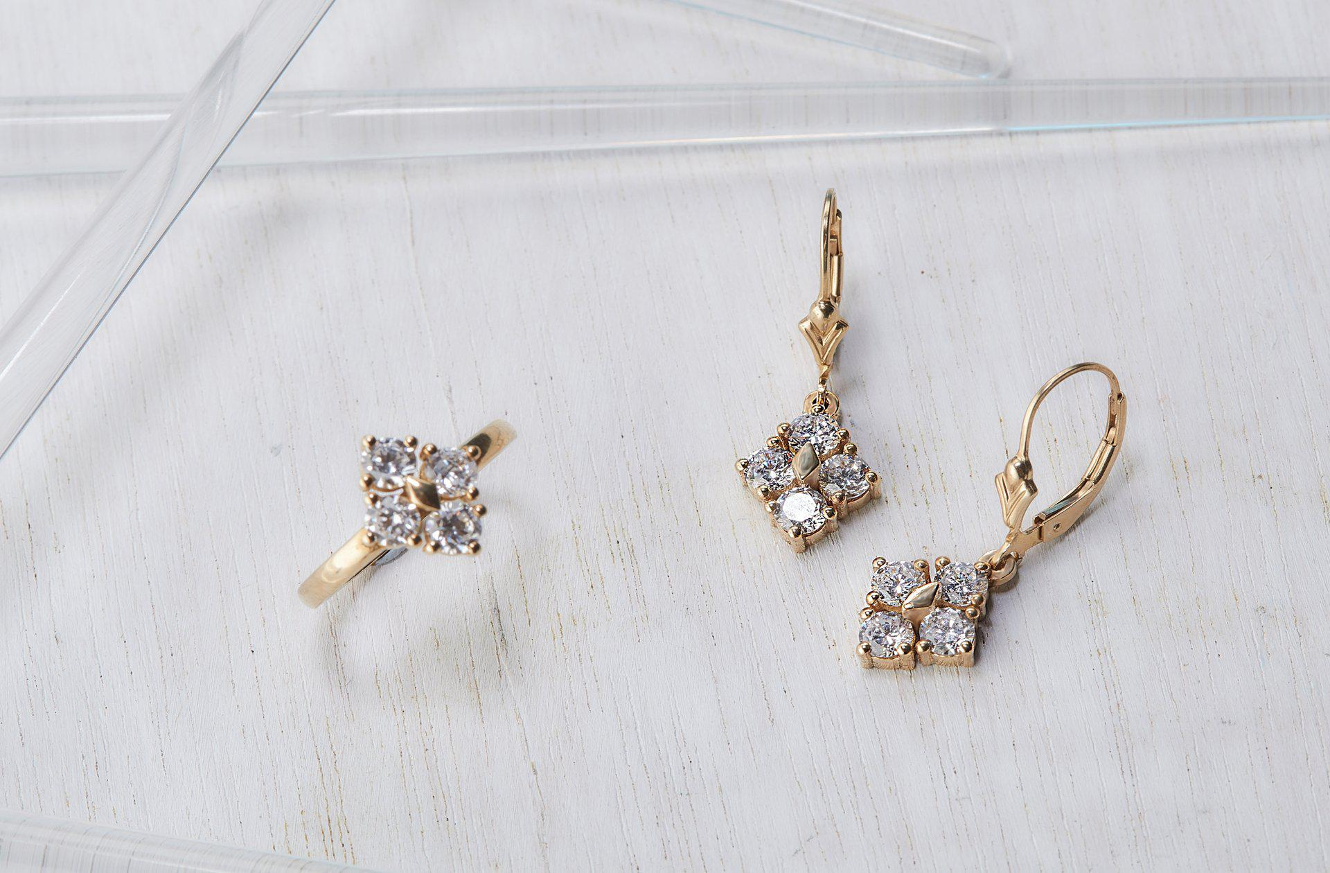 Star Dust Earrings-Earrings-TOR Pure Jewelry