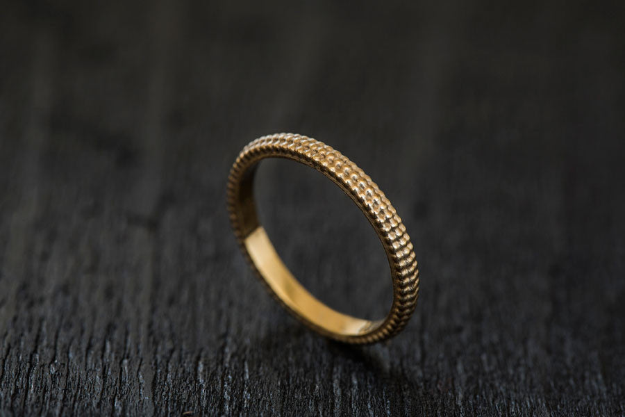 Ground Ring-Wedding Band-TOR Pure Jewelry