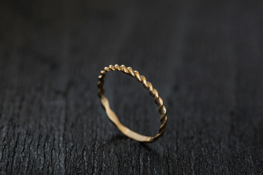 Rope Wedding Band-Wedding Band-TOR Pure Jewelry
