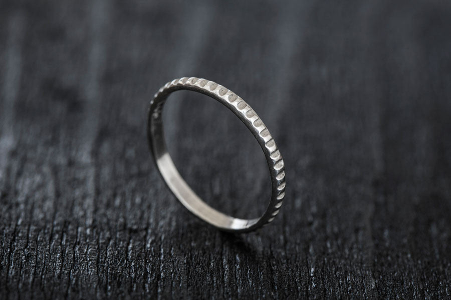 Sand Wedding Band II-Wedding Band-TOR Pure Jewelry