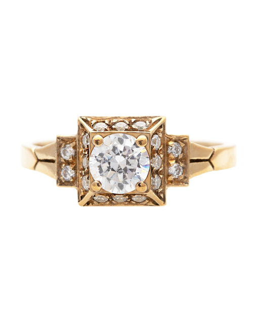 Sublime Diamond Ring with Lab Created Diamonds