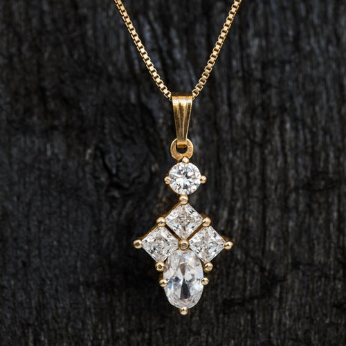 Hera Diamond Necklace-Necklace-TOR Pure Jewelry