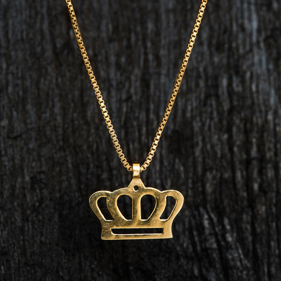 Crown Necklace-Necklace-TOR Pure Jewelry