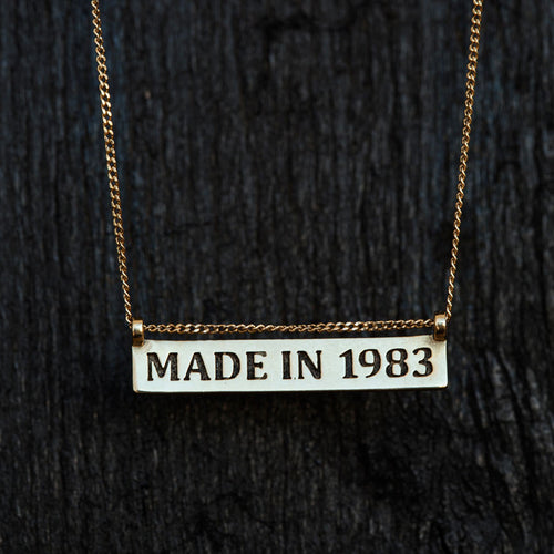 Made In Necklace-Necklace-TOR Pure Jewelry