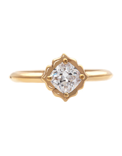 Charm Diamond Ring