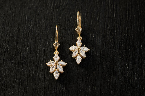 Venus Diamond Earrings-Earrings-TOR Pure Jewelry