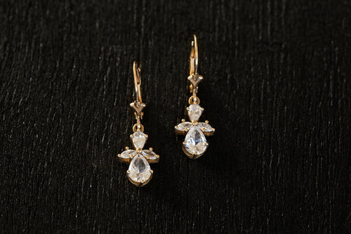 Athena Diamond Earrings-Earrings-TOR Pure Jewelry