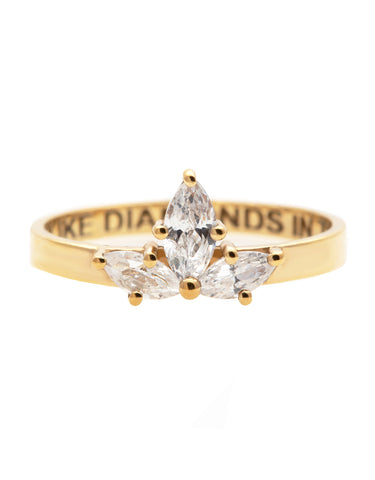 Wizard Bow Tie Diamond Ring