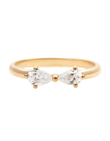 Michal Diamond Flower Ring