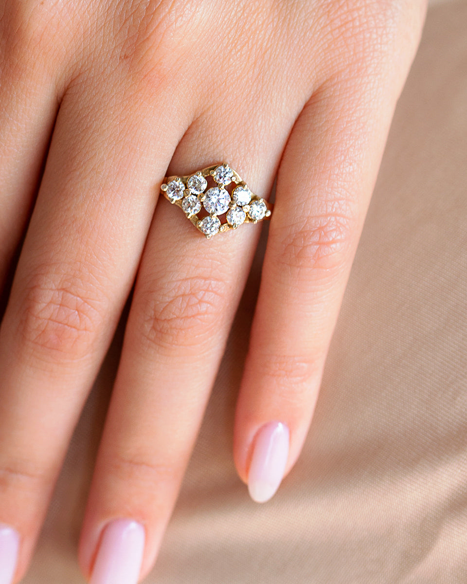Glorious Diamond Ring