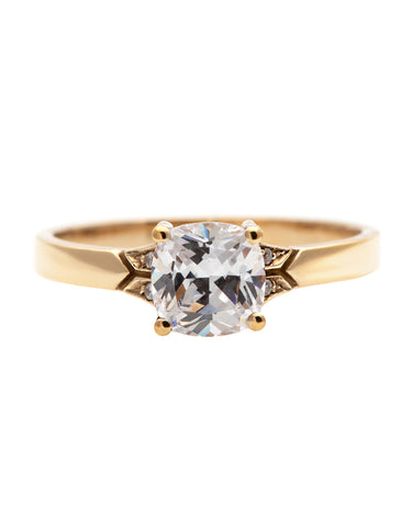 The Lotus Glow Diamond Ring