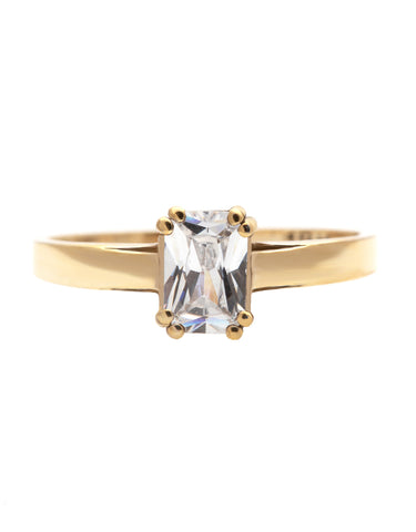 Reut B Kite Shaped Diamond Ring with Lab Created Diamonds