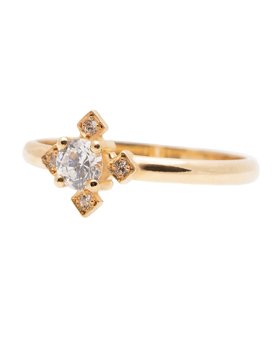 Clove Diamond Ring