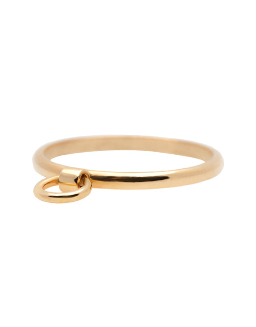 Hoop Gold Ring