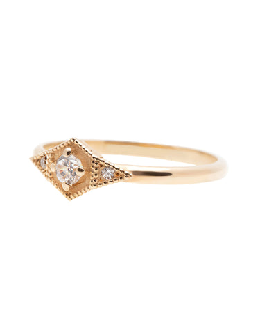 Marquise Diamond Ring