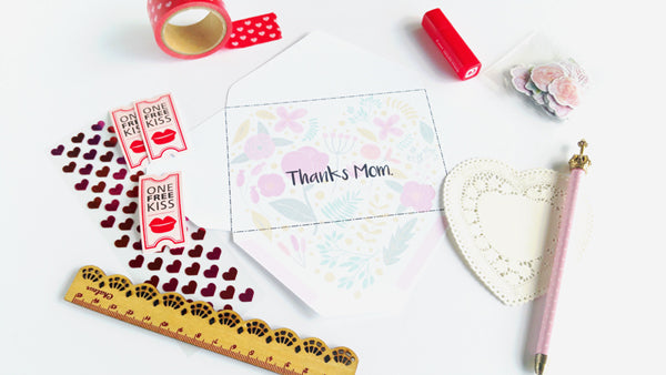 Letter to Mom - Free Printable