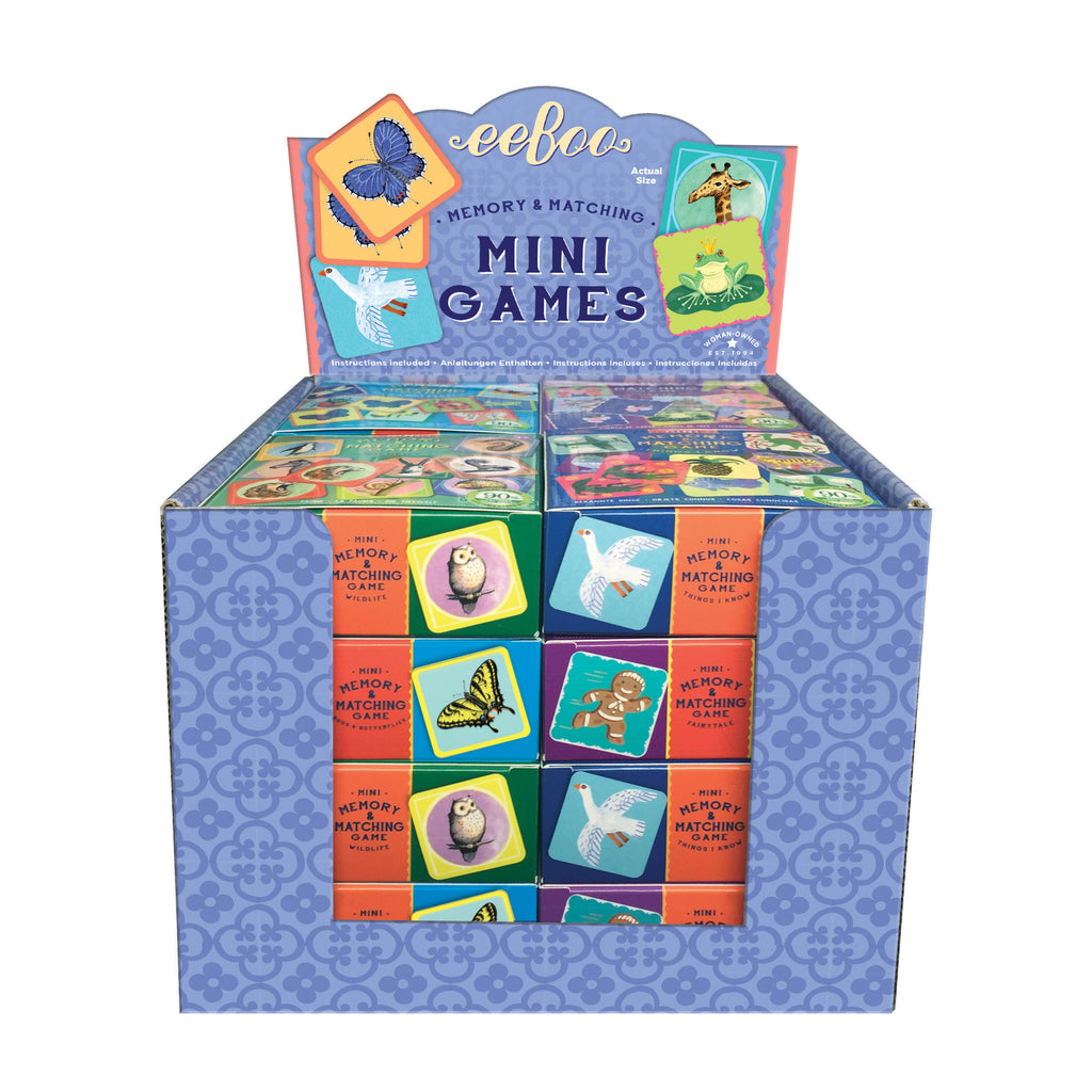 Mini Matching Games - Bugs & Butterflies by eeBoo
