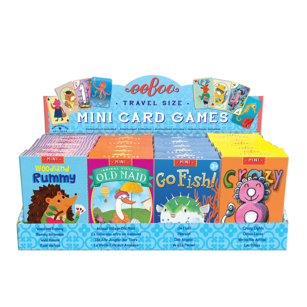 Mini Card Games - Go Fish by eeBoo