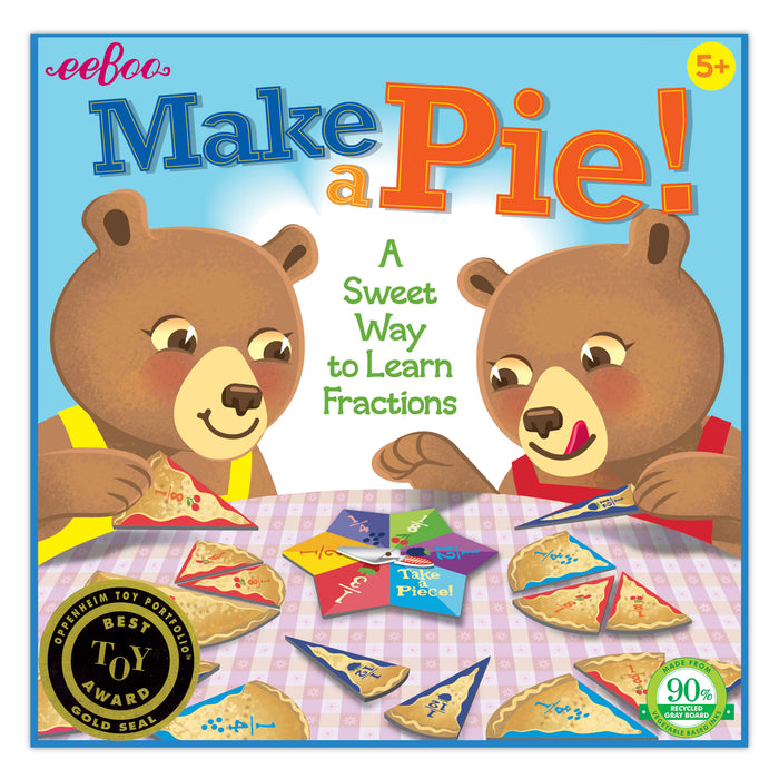 Make A Pie Game, by eeBoo