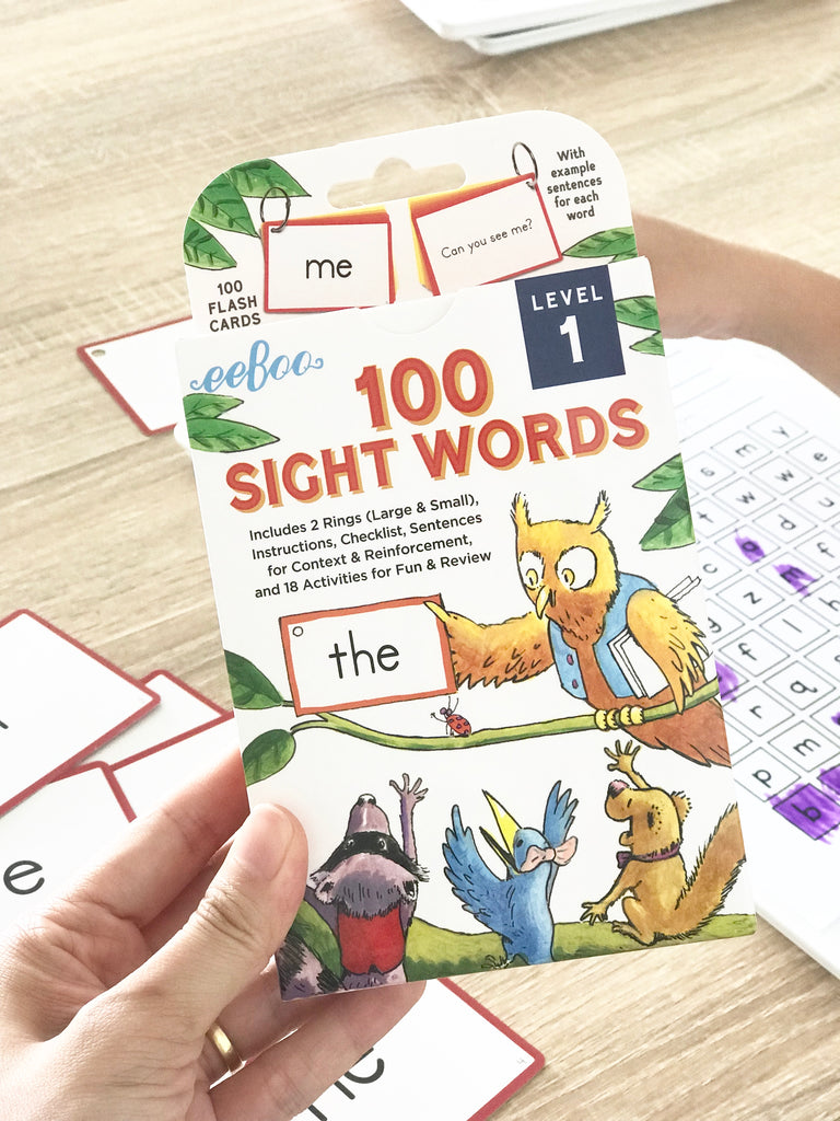 Sight Words Printables Level 1 (1-10), by Stickiemail