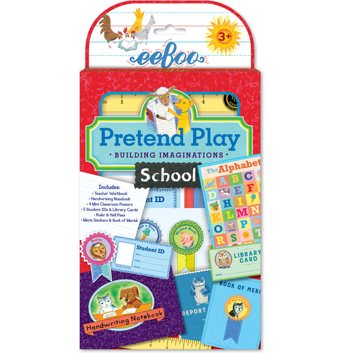 Pretend Play - School, by eeBoo