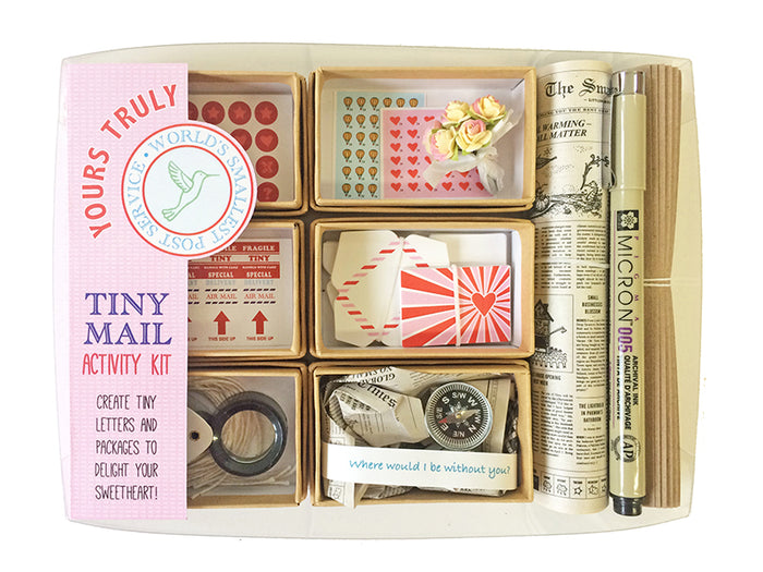 The Tiny Mail Stationery Kit - Special Edition: Yours Truly, by Lea Redmond