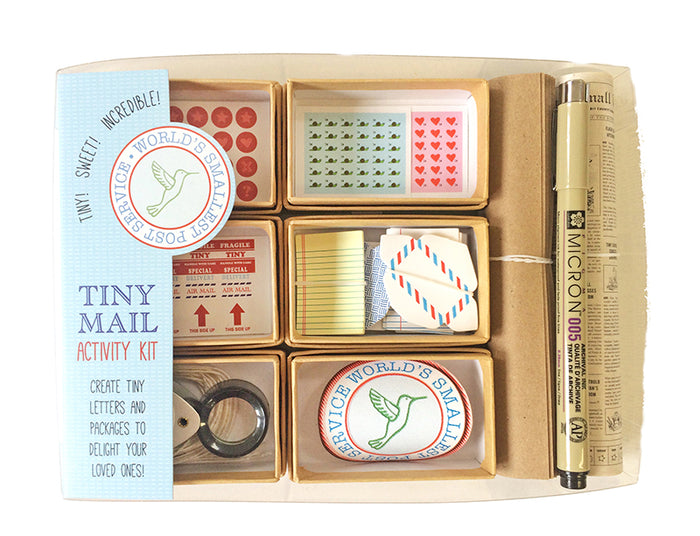 The Original Tiny Mail Stationery Kit, by Lea Redmond