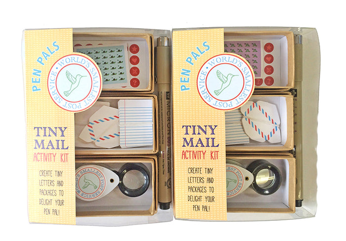The Tiny Mail Stationery Kit - Special Edition: Pen Pals, by Lea Redmond
