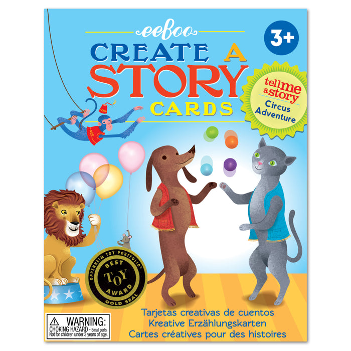 Create-a-Story Cards: Circus Adventure, by eeBoo