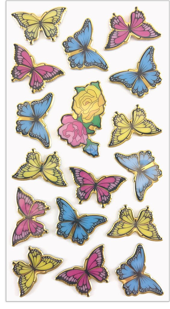 BUTTERFLIES, Puffies by Mrs Grossmans