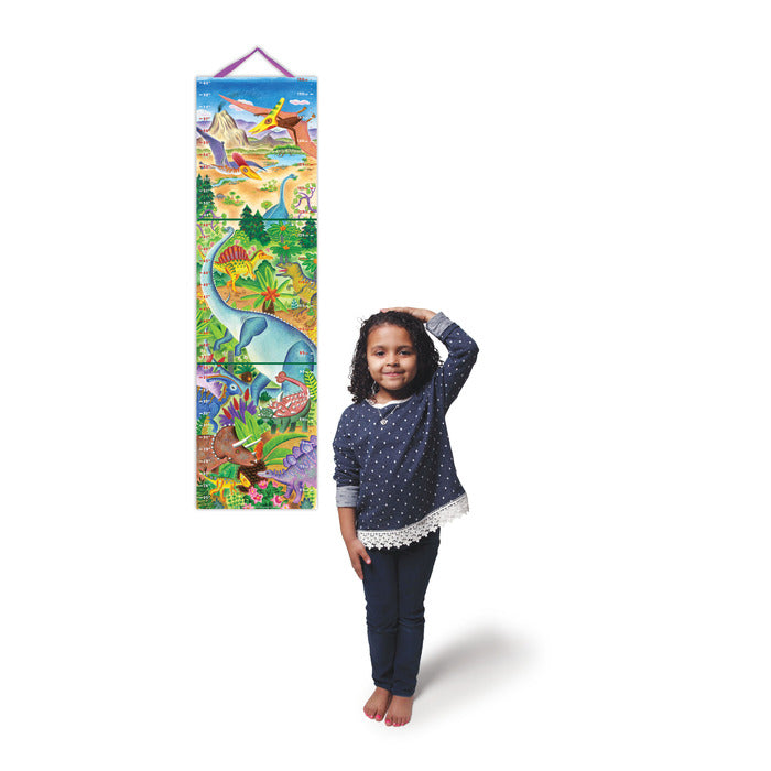 Grow Like a Dinosaur Keepsake Growth Chart, by eeBoo
