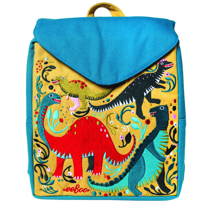 Dinosaur Party Small Backpack, by eeBoo