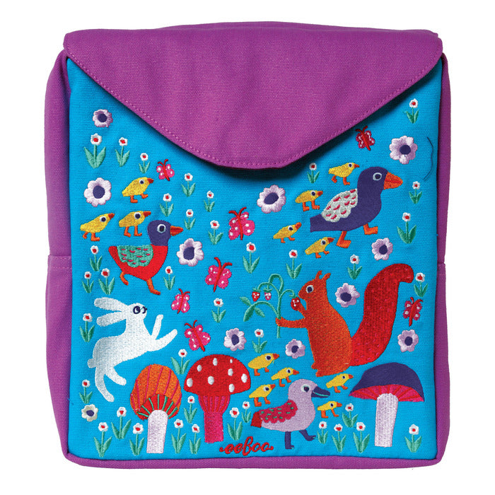 Hoppy Bunny Small Backpack, by eeBoo