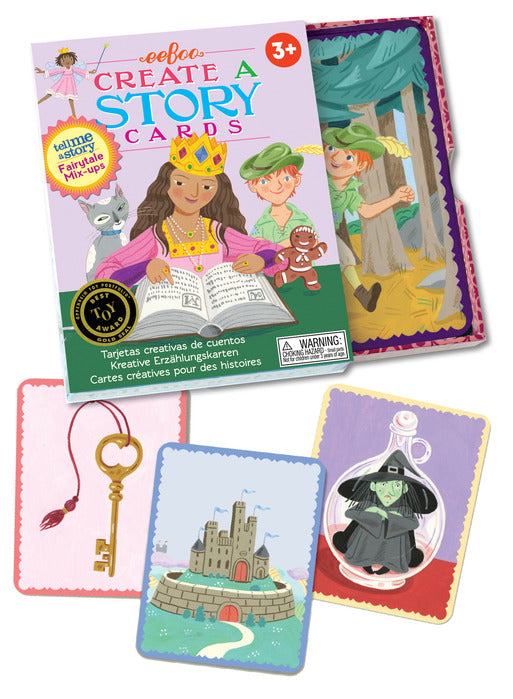 Create-a-Story Cards: Fairytale Mix-Up, by eeBoo