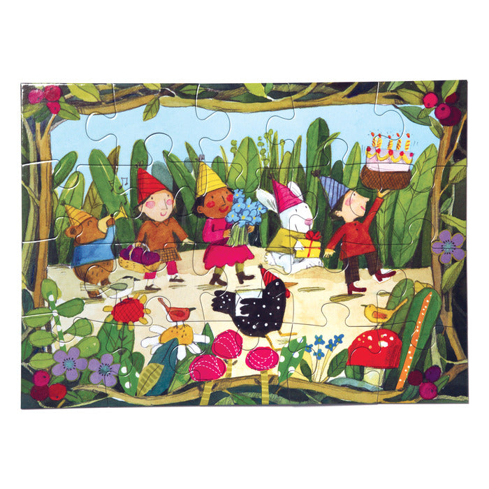 Birthday Parade 20pc Puzzle, by eeBoo