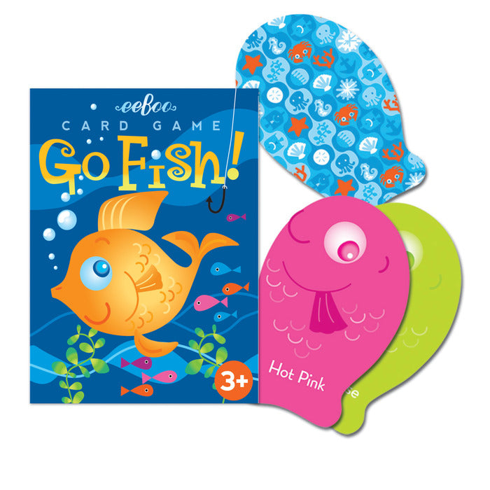 Colour Go Fish Playing Cards, by eeBoo